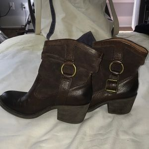 Lucky Brand Shoes - NEW Lucky Brand Cowboy Boots 🌟 size 7.5 🌟 Brown